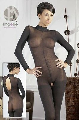 Mandy Mystery lingerie Catsuit ouvert S/M Women |61