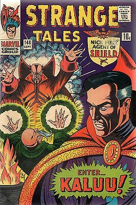 Strange Tales # 148 / Fine / Price Variant / Origin Of The Ancient One.