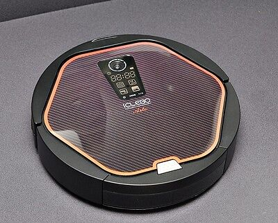 iCLEBO ARTE YCR-M05-10 Robot Vacuum Cleaner Modern Black Catch Mop (No Battery)