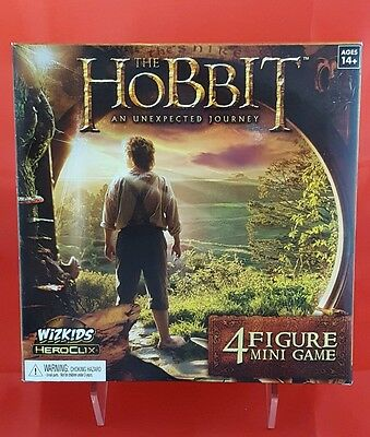 The Hobbit Unexpected Journey Heroclix Mini Game 4 Collectable Movie Figurines