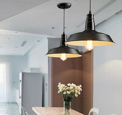 Industrial Vintage Light Retro Pendant Lamp Shades Factory Edison Ceiling Lights