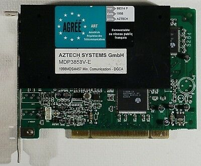Aztech MDP3858SP-E Drivers Download (2019)