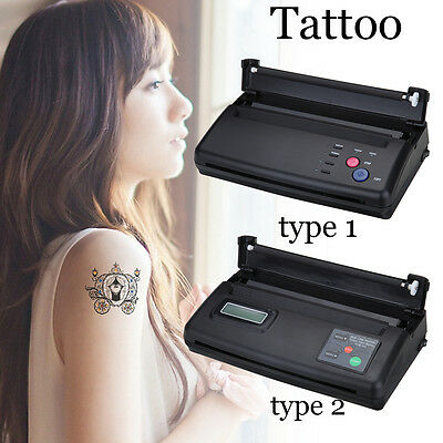 Tattoo Transfer Copier Printer Machine Thermal Stencil Maker 2 Mode Selectable