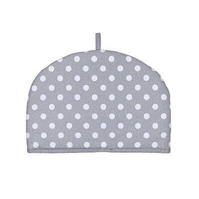 Dexam Dove Grey Flamenco 2 Cup Small Tea Cosy Cozie Teapot Cosie Spot Polka Dot