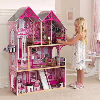 Couture Dollhouse + 14 Pieces of Furniture (3+ Years)