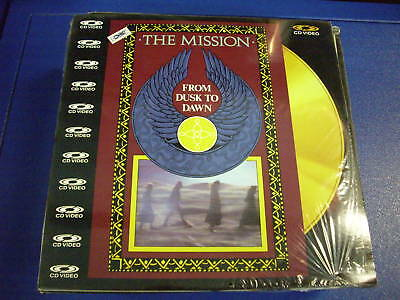 The Mission From Dusk To Dawn  Laser Disc Ld Pal New