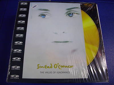 Sinead O'connor The Value Of Ignorance Laser Disc Ld