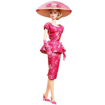 Fashionably Floral Limited Edition Barbie Doll Collector Gold Label Model Pink