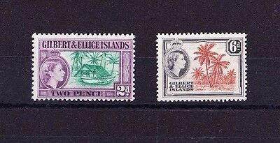 Gilbert & Ellice 1964-65 Pair Sg 85-86 Mnh.