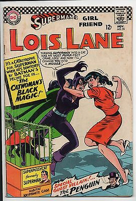 Superman's Girl Friend Lois Lane #70! 1St Silver Age Catwoman!