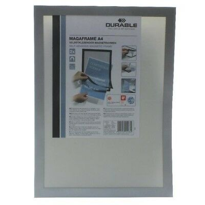 Durable Magaframe A4 Silver Pack of 2 4872/23