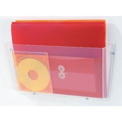 Deflecto Non Breakable Wall File Pocket A4 Clear