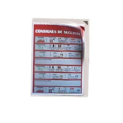 Tarifold Hanging Pockets Red Pack of 5 194770