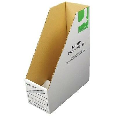 Q-Connect Business Magazine File 100x230x300mm Pack of 10