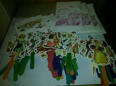 THE GRETNA COLLECTION REPRODUCTION VINTAGE PAPER DOLL IMAGES Over 80 dolls