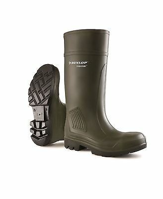 Dunlop Purofort Professional Full Safety Wellington Welly Wellies TRL-1201