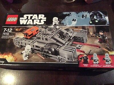 LEGO Star Wars Imperial Assault Hovertank 75152 - NEW
