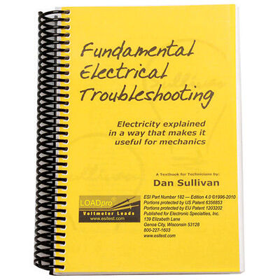 Electronic Specialties 182 Loadpro Troubleshooting Book
