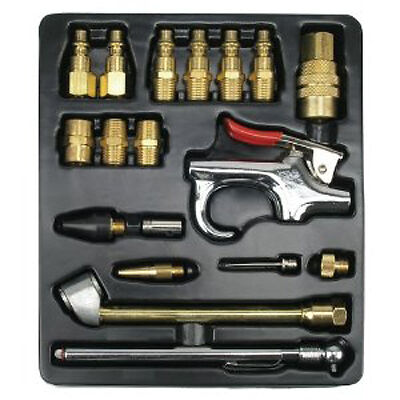 Ampro A1460 18pc Air Tool Accessory Kit