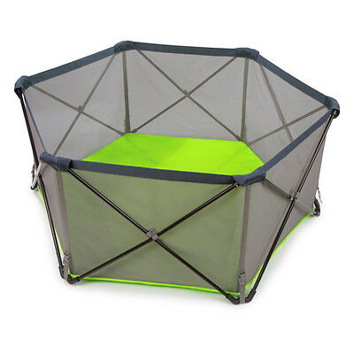 Summer Infant Pop Play Ultimate Playpen Great Condition Compact Fold Travel Bag