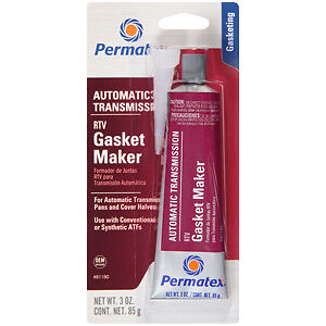 Permatex 81180 Automatic Transmission RTV Gasket Maker - 3 oz.