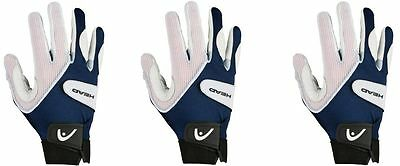Head Renegade Racquetball Glove 3 Pack ALL SIZES AVAILABLE