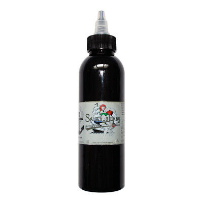 Sailor Jerry Tattoofarbe, Magic Schwarz, 150 ml, Tattoo Farbe Tätowierfarbe Ink