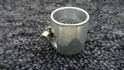 An-10 An10 Silver Hose End Finisher Jubilee Clip Clamp Fitting Skoda