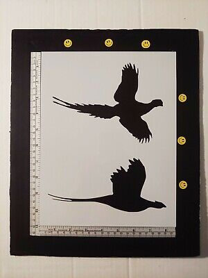 "Wings Ready Heart Not Feather Birds 8.5/"" x 11/"" Custom Stencil FAST FREE SHIPPING"