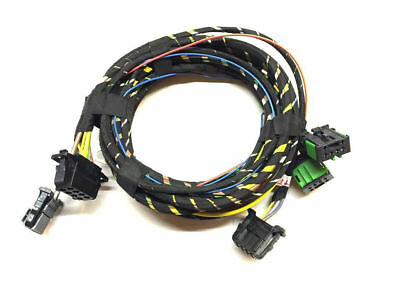 VW T5 7H Heated seats 8 pin 3 SH Adapter Cable Cableset Cable loom Standard)