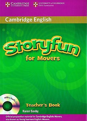 Cambridge English STORYFUN FOR MOVERS Teacher's Book with Audio CDs @NEW@