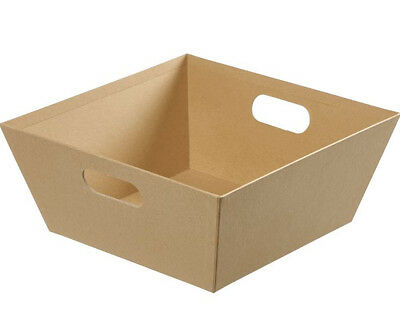 30cm Best Quality Kraft Cardboard Gift Hamper Tray