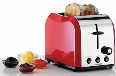 Heller Stainless Steel 2 Slice Toaster browning control & crumb tray HMT122-S