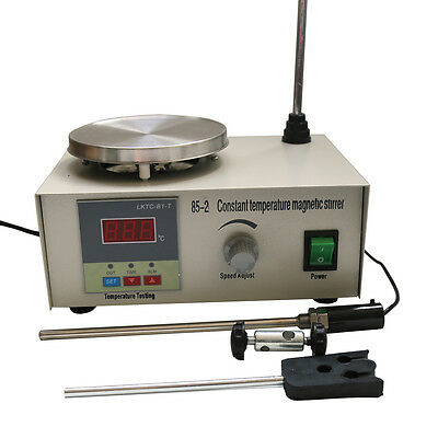 85-2 Magnetic Stirrer With Heating Plate Hotplate Mixer AC 110V