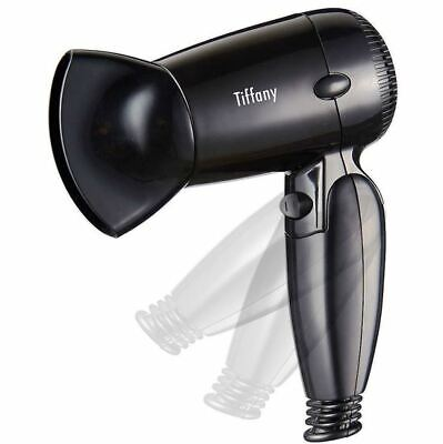 Tiffany 1200W Travel Foldable Compact Hair Dryer Hairdryer 2 Speed 1.6m THD1200