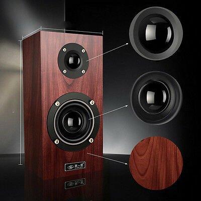 PC Speakers 14W RMS Computer Desktop Laptop Home Stereo Audio Wood Subwoofer UK
