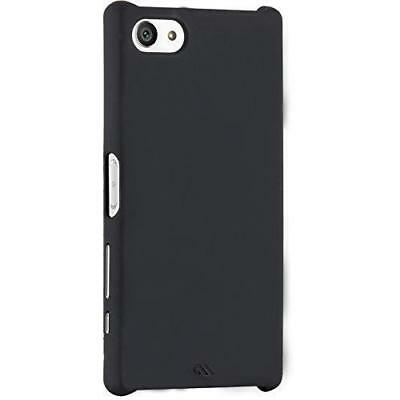 Case-Mate Black Hard Cover for Sony Xperia Z5 Compact Barely There Case