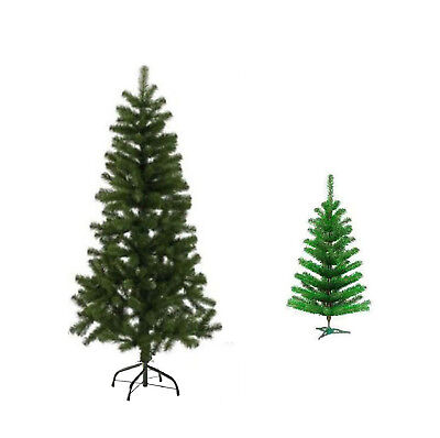 New Traditional Christmas Decoration Pine Tree With Stand Green 4ft/5ft/6ft UK