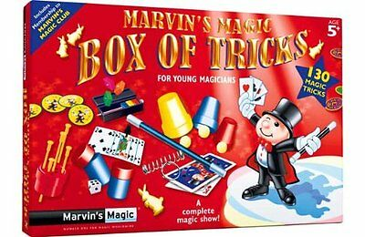 Marvin's Magic 130 Magic Made Easy Tricks FREE UK DELIVERY