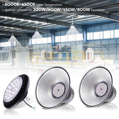 100W 120W 150W LED High Bay Factory Warehouse Light Fixture Commercial Lighting