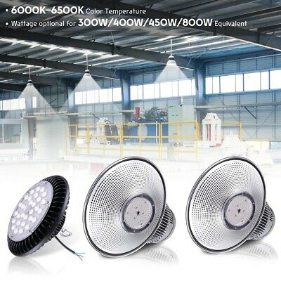 LED High Bay Warehouse Light Bright White Fixture Factory Commercial Lighting