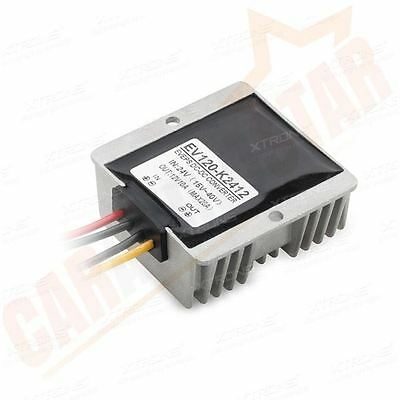 DC-DC 24V to 12V Voltage Converter Power Adapter Regulator Reducer Waterproof UK