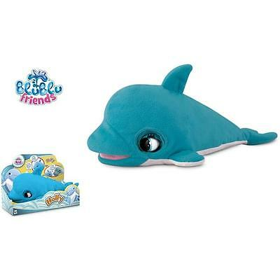 Blu Blu Friends Holly the Dolphin Interactive Kids Plush Cuddly Soft Toy