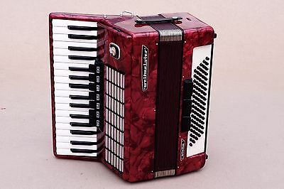 Excellent German Accordion Weltmeister Stella 80 bass Including Case