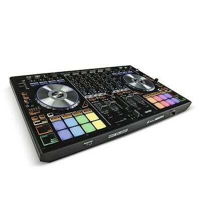 Reloop Mixon 4 Serato 4-Channel USB MIDI  DJ Controller with Effects