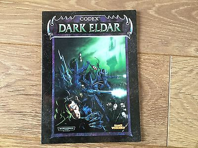 Warhammer 40K Codex Dark Eldar 1998 ...oop