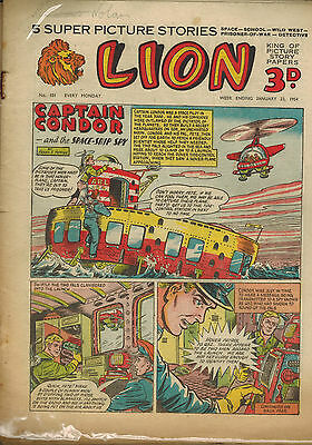 LION COMIC - 16 issues from 1954 LOOK!