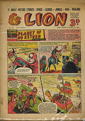 LION COMIC No. 188-191 from 1955 LOOK!