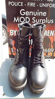 NEW British Army GORE-TEX RAF Combat Assault Black Leather COLD WEATHER Boots 6