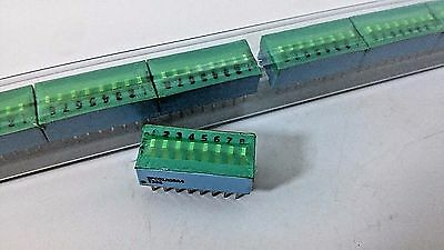 25 Switch DIP 16 Pin 8 POS Pitch 8 PIANO CODE SPC01A08A4 SEALED 25X10 mm New